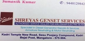Shreyas Genset Services