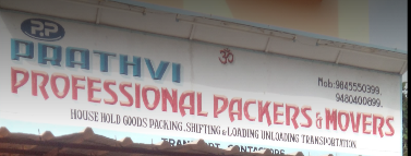 Prathvi Professional Packers and Movers